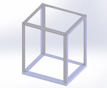 """Aluminum Cabinet 30""""x26""""x35.75"""""""