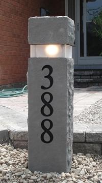 "36"" Limestone Bollard"